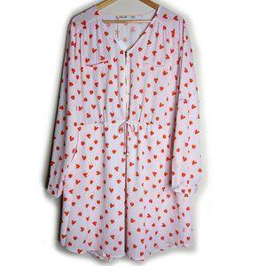 Sweet Lemon Australia Plus Size heart dress sz 18